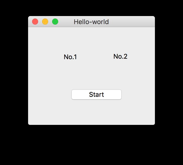 开始界面框架图